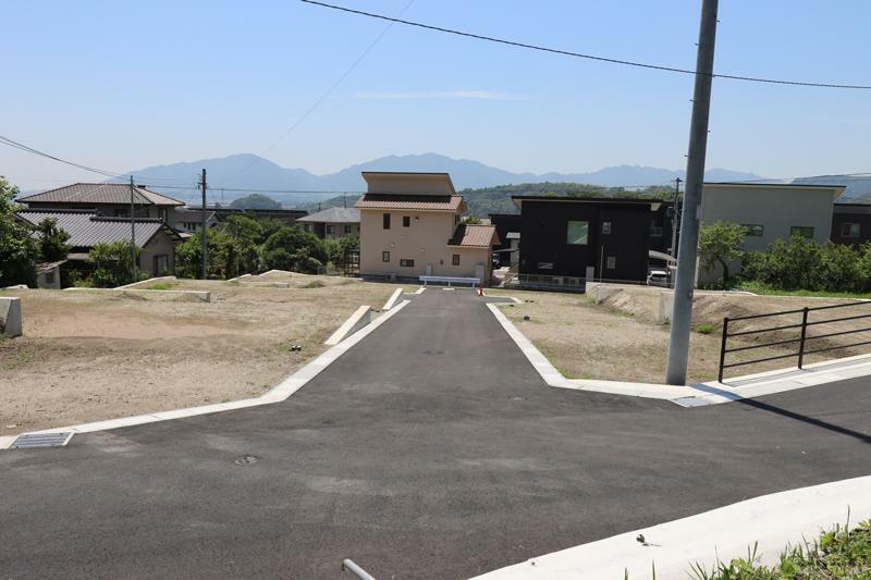 現況写真 区画内道路5m