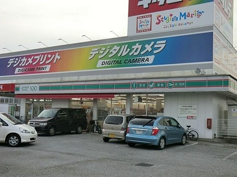 コンビニ ローソンストア100野田山崎店