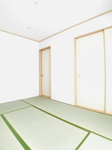 和室 同社施工例。実際とは異なります。