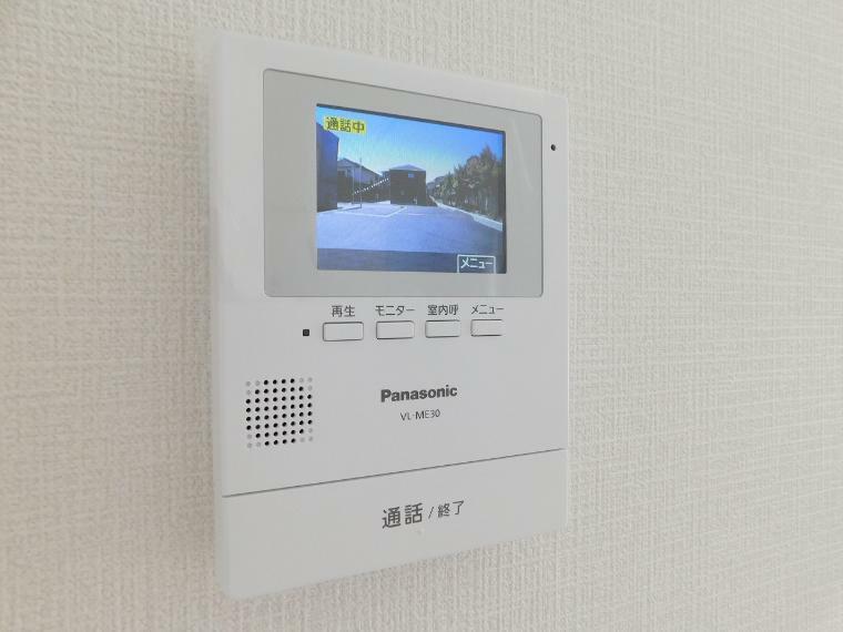 TVモニター付きインターフォン 来客者を確認できるモニター付インターホン
