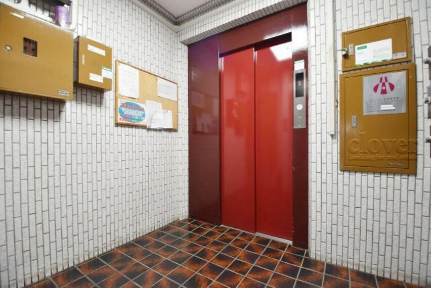 エントランスホール エレベーター