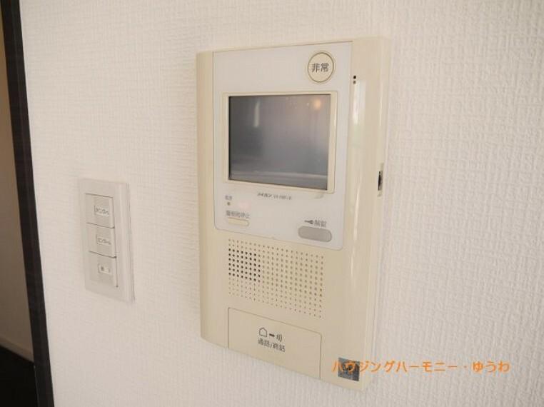 TVモニター付きインターフォン イメージ画像となります。実際とは異なりますので、ご注意ください!