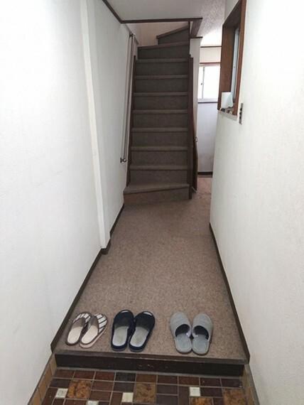 玄関 いつも気持ち良くご家族を迎えられる玄関