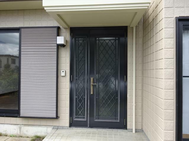 玄関 豪華な玄関ドア