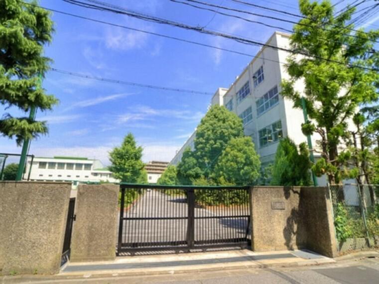 中学校 (江戸川区立松江第一中学校)