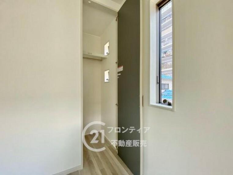 収納 全居室収納スペース付きで便利です