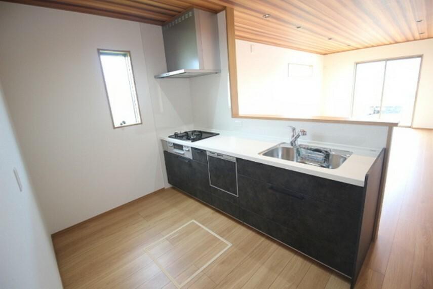 キッチン 食洗器が標準で設置されています