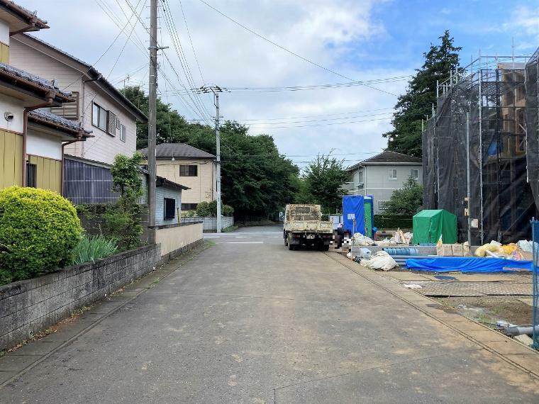 現況写真 【前面道路】南東側幅員約6.0m公道