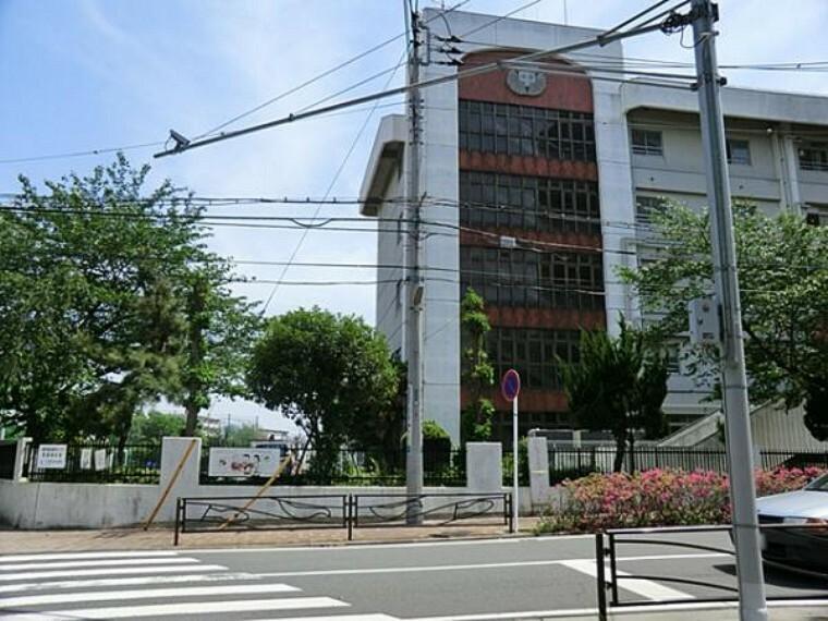 中学校 川崎市立塚越中学校 約630m