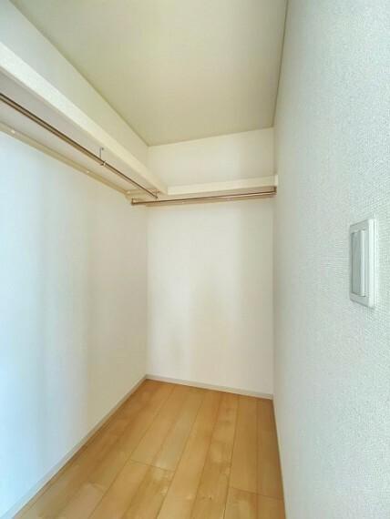 収納 各部屋しっかり収納がついております!