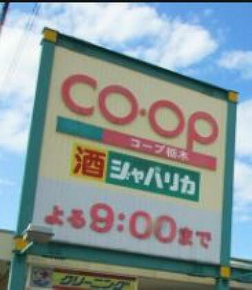 スーパー 【スーパー】とちぎコープ コープ栃木店まで423m