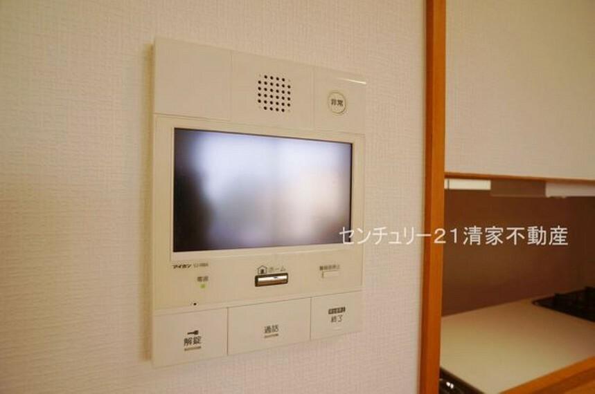 専用部・室内写真 来客時に便利なTVモニター付インターホン(2021年08月撮影)
