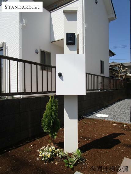 TVモニター付きインターフォン 【同仕様写真】TVモニター付きインターホン・ポスト・散水栓