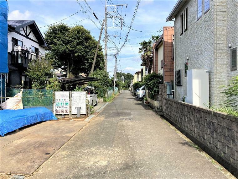 現況写真 【前面道路】南側幅員約4.5m公道
