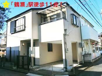 外観写真 東武東上線「鶴瀬」駅徒歩11分! 新規リフォーム済! まだまだお住まいいただけるオススメの物件です!