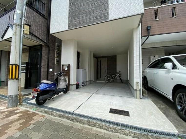 駐車場 1台駐車可能スペース完備です