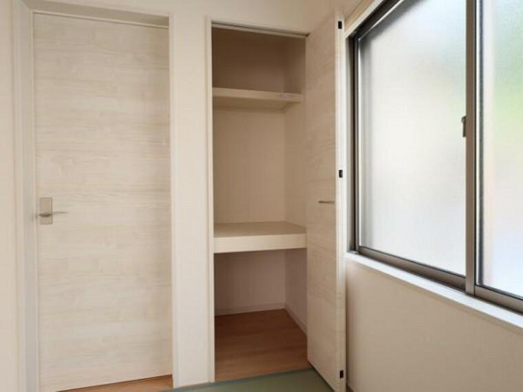 同仕様写真(内観) \同仕様写真/和室にある押入れは、お子様のおもちゃや座布団などもしっかり収納出来ます