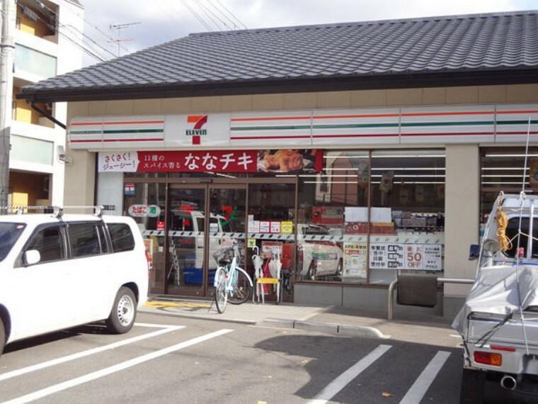 コンビニ セブンイレブン京都下鴨膳部町店