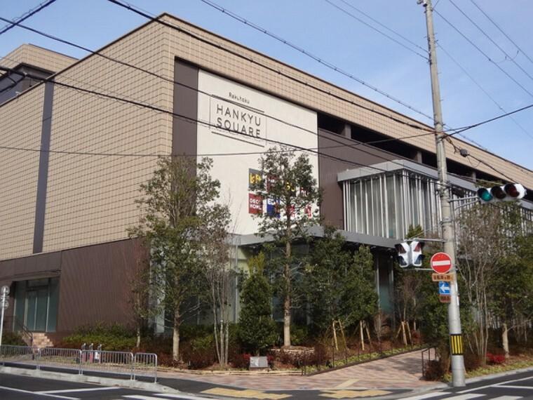 ショッピングセンター 洛北阪急スクエア 2019年12月6日オープン。書籍・ファッション・雑貨・食料品など幅広い品揃えです。