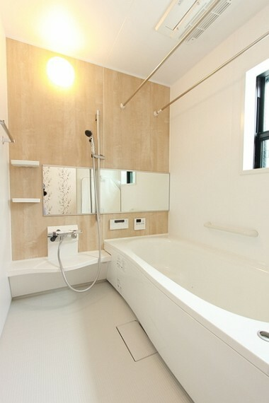 浴室 ゆったりくつろげる一坪タイプの浴室