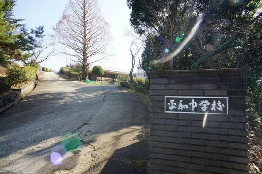 中学校 平和中学校 平和中学校まで950m(徒歩約12分)