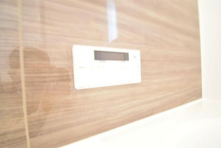 専用部・室内写真 お湯張り、追い炊きがボタン一つで可能