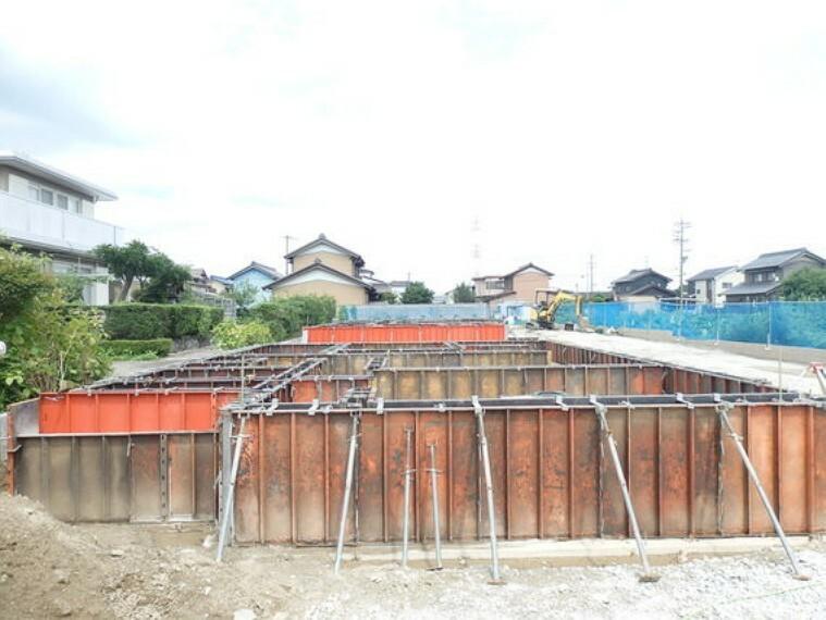 現況外観写真 全居室約6帖以上の広々4LDKが建つ予定です。