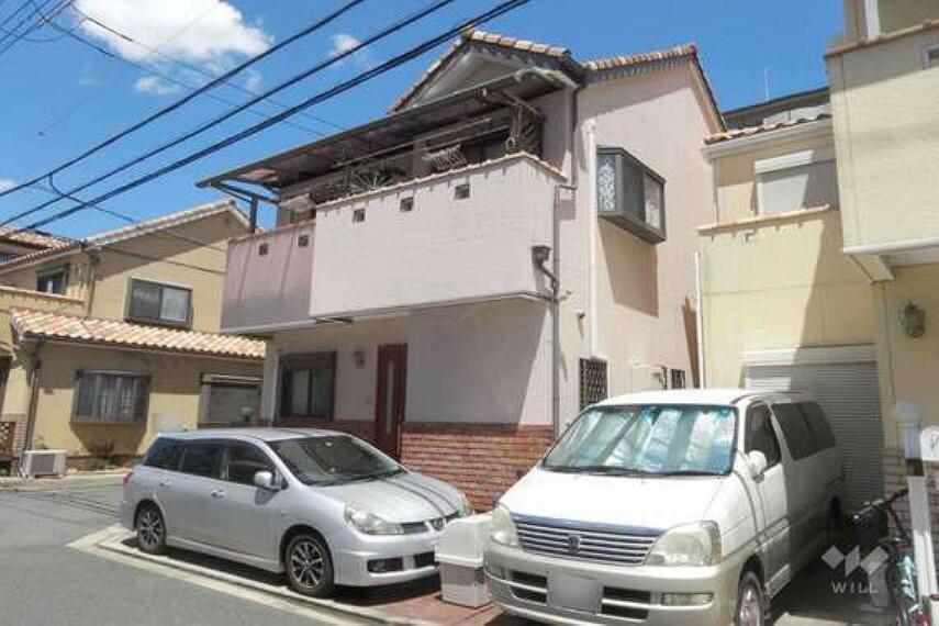 現況写真 物件外観(南東側から)2003年築の築浅中古戸建。大阪モノレール線摂津駅徒歩7分の便利な立地です