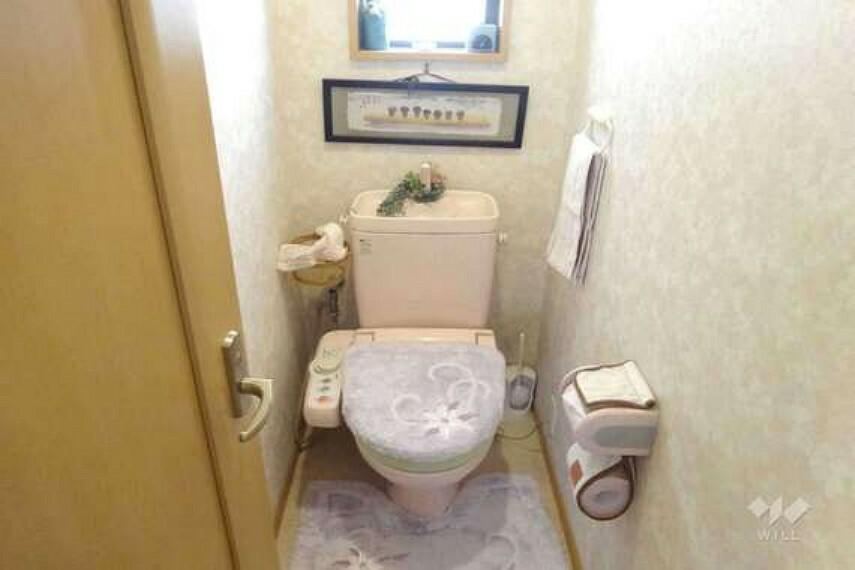 トイレ 1階トイレ[2021年7月19日撮影]丁寧に使われております。リフォームの提案などもさせて頂きます。