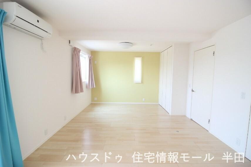 子供部屋 間仕切り出来る使い勝手の良い居室
