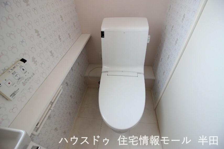 トイレ トイレは各階に設置!