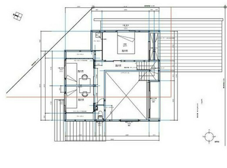 間取り図 2階平面図