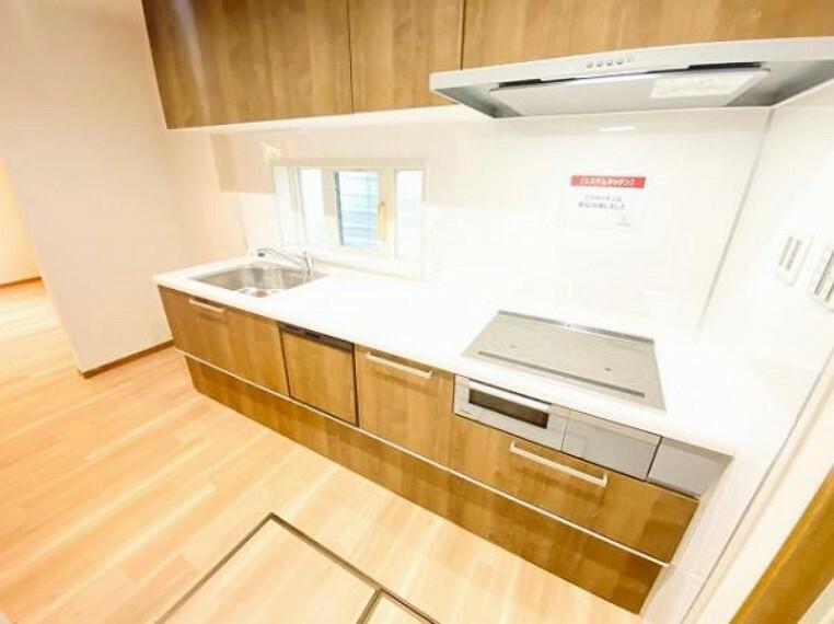 キッチン お食事後のお片付けは食器洗浄乾燥機にお任せ!