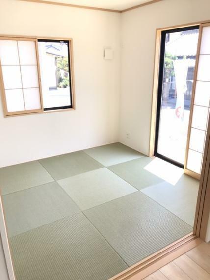 和室 4.5帖の和室です。