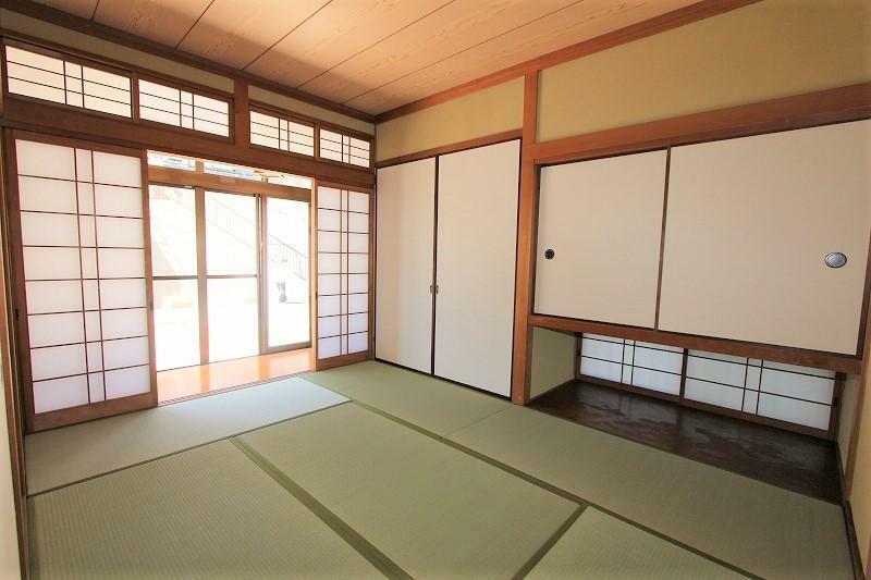 和室 6帖の和室です。