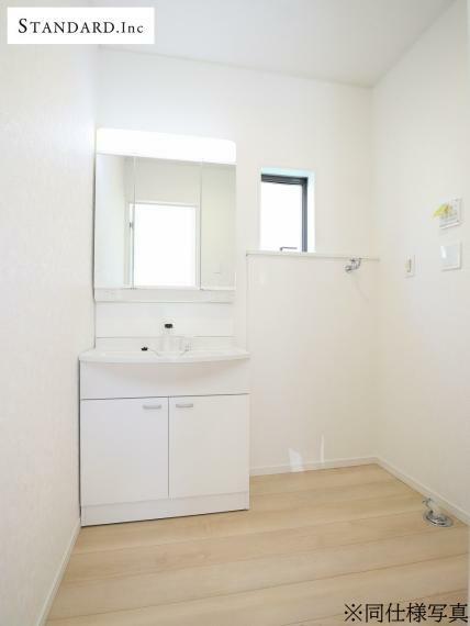 脱衣場 【同仕様写真】洗面化粧台(ハンドシャワー付)