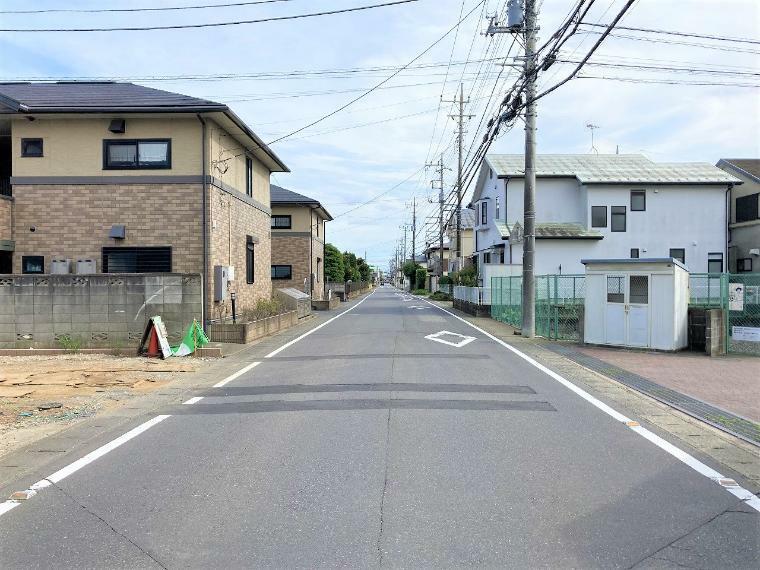 現況写真 【前面道路】西側約7.2m公道