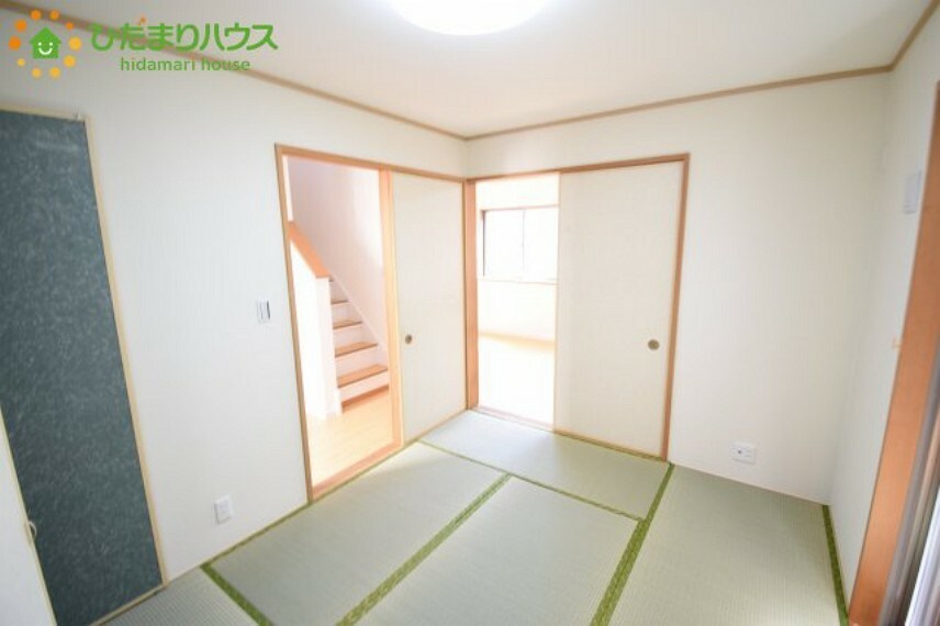 収納 5.2畳の和室は小さなお子様のお世話に大活躍
