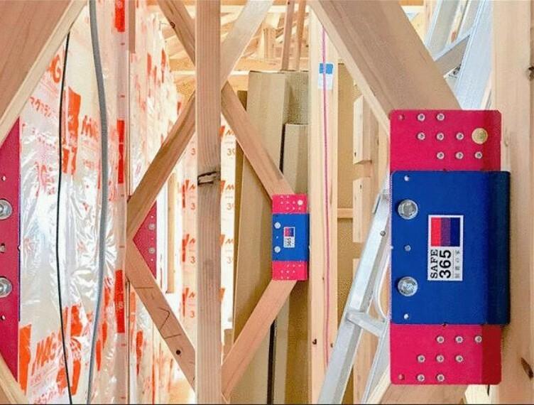 外観・現況 制震装置(SAFE365)の優れた特長:地震の揺れを抑え、耐震性能を維持