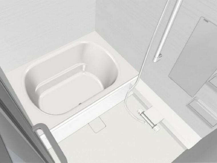 専用部・室内写真 【同仕様写真】浴室はハウステック製1216サイズのユニットバスに交換します。新しいお風呂で1日の疲れをゆっくり癒すことができますよ。