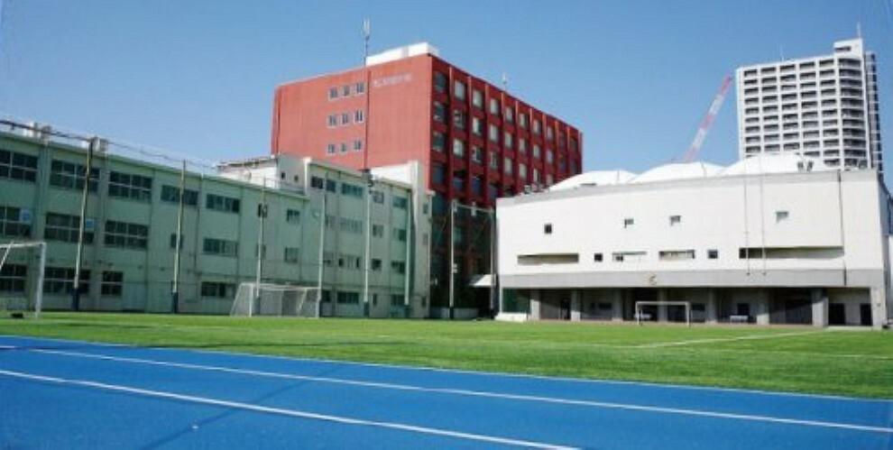 中学校 【中学校】海城中学校・高等学校まで1257m