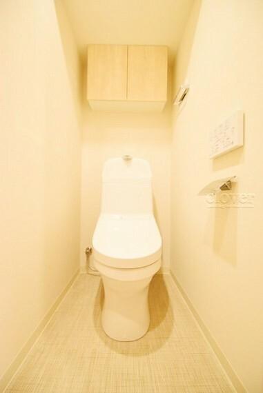 トイレ トイレ 温水洗浄便座付き 上部収納付き