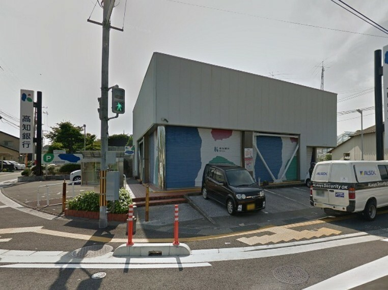 銀行 【銀行】高知銀行福井支店まで369m