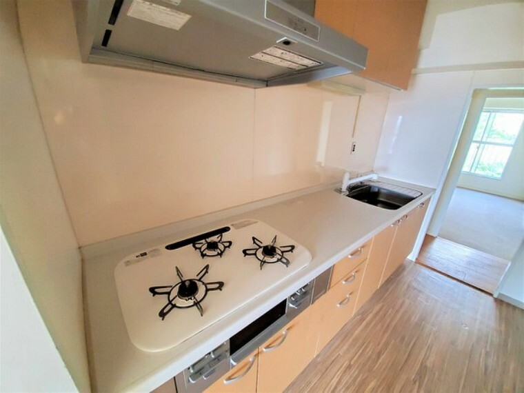キッチン 2014年リフォーム済のシステムキッチン