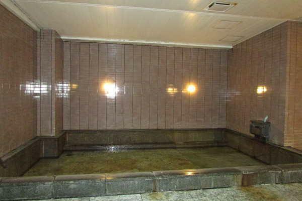露天風呂付の温泉大浴場