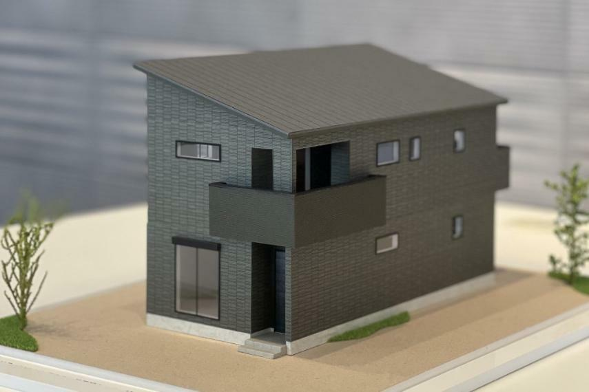 完成予想図(外観) 住宅模型(3号棟)