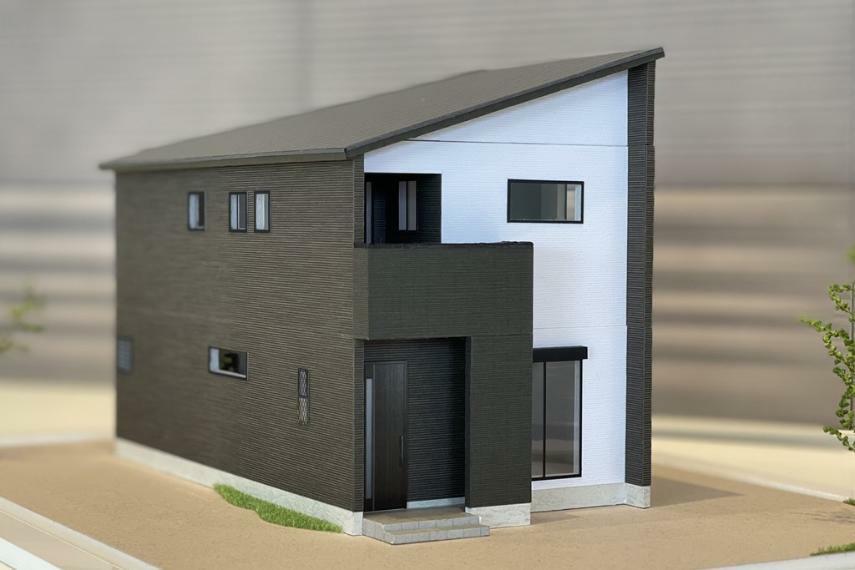 完成予想図(外観) 住宅模型(5号棟)