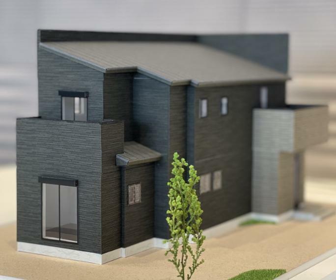 完成予想図(外観) 住宅模型(6号棟)