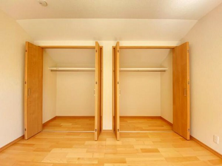 収納 (収納)全室クロゼット付きなので住空間を広々使えます!