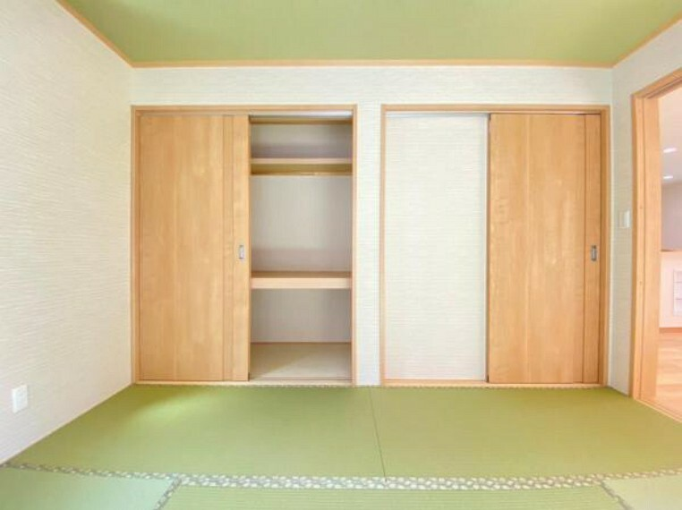 和室 (和室)客間として、お子様の遊び場所として、用途多彩に使える和室は子育て世代のご家族にもぴったり^^
